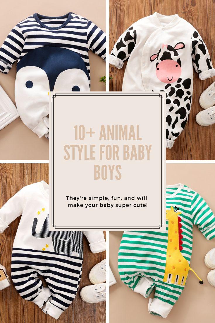 PATPAT styles d'animaux pour bébés garçons   – Baby