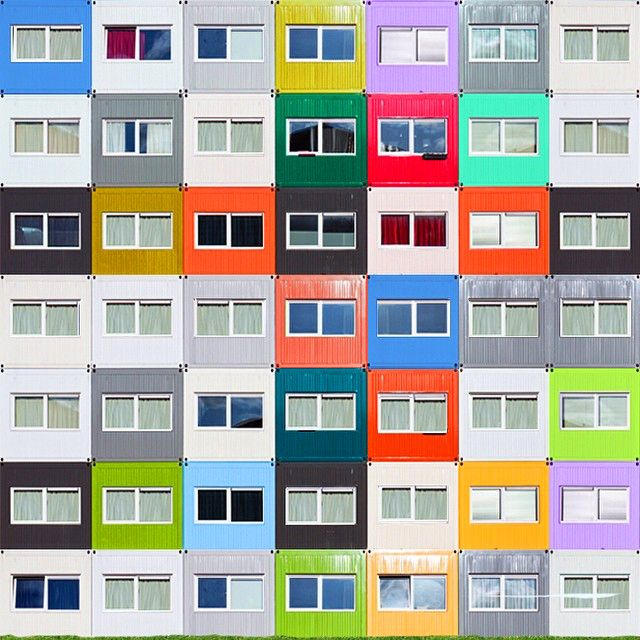Minimal, Symmetric, & Colorful Architecture Photography