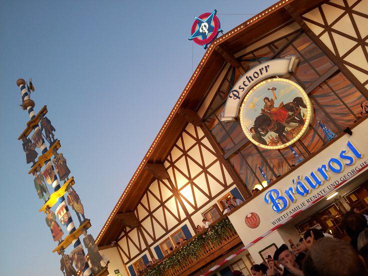 #Pschorr Bräurosl - #Oktoberfest  http://www.monaco-baviera.it/pschorr-braurosl-oktoberfest/