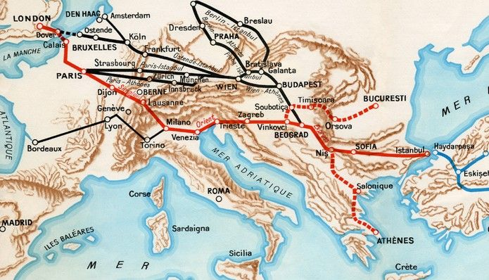 The Venice Simplon Orient Express Train Is Now Getting New Luxurious Grand Suites Orient Express Train Adventure Train Route