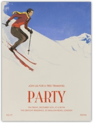 "Think I need to have an apres ski party... Paperless Post - Browse ""ski"""