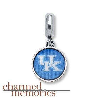 Charmed Memories Univ. of Kentucky Charm Sterling Silver