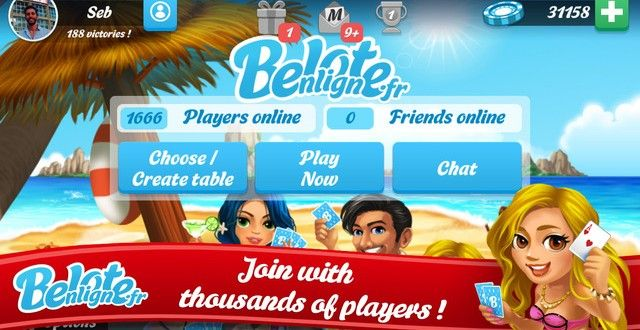 Belote Multiplayer Hack Cheat