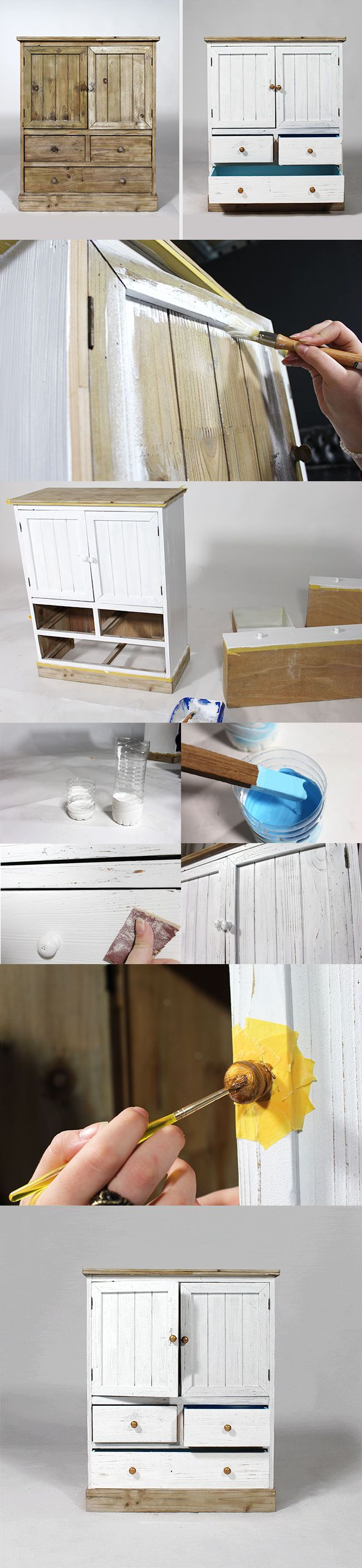 Diy customiser un meuble en bois bricolage for Customiser un meuble en pin