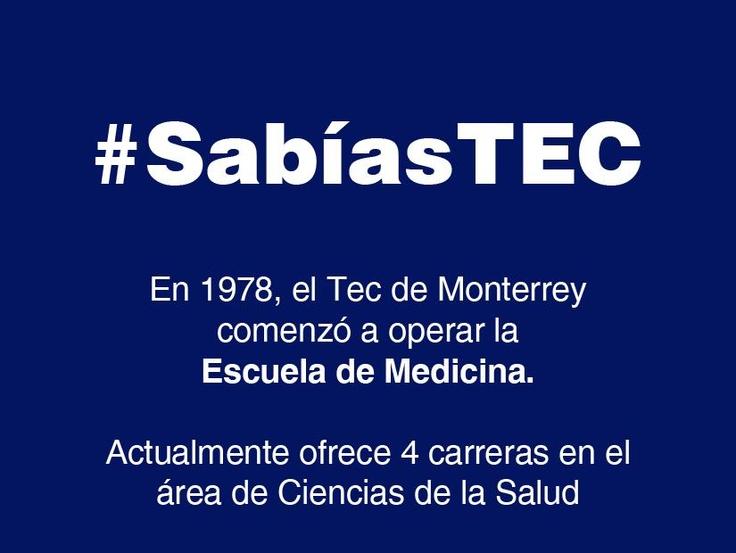 El Tec de Monterrey ofrece 4 carreras en el área de Ciencias de la Salud
