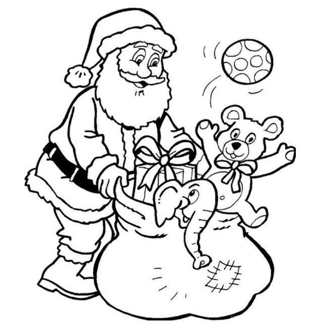Papai Noel Para Colorir Santa Coloring Pages Printable Christmas Coloring Pages Christmas Coloring Pages