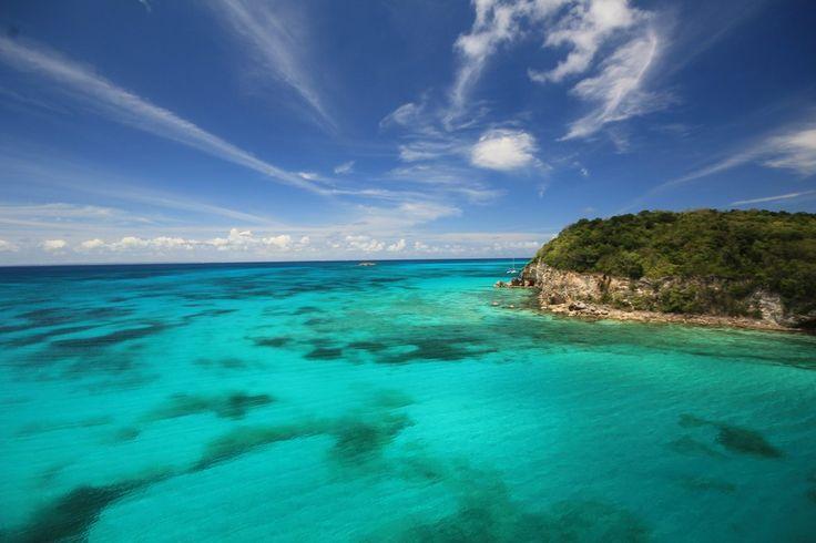 Anse canot à Marie-Galante, Guadeloupe
