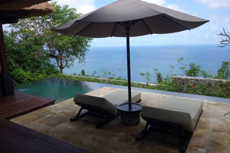Private bungalow at bvlgari hotel, Bali