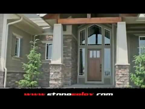 Exterior stone siding stone wall designs by stone selex for Exterior by design ottawa