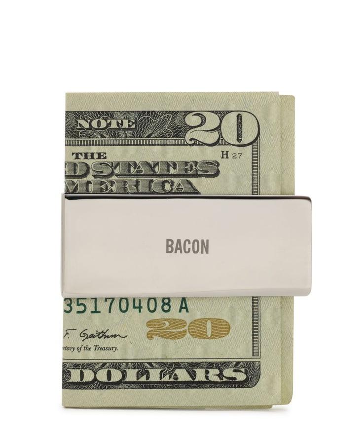 Bacon money clip