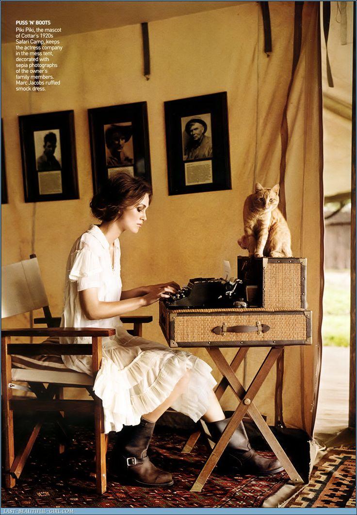 Typewriter & Keira Knightly