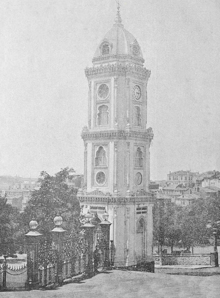 [Ottoman Empire] Hamidiye Clock Tower, Istanbul (Osmanlı Hamidiye Saat Kulesi, İstanbul)