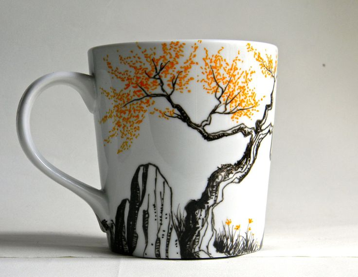 1000 ideas about hand painted mugs on mybktouch painted mugs intended for one of a kind mugs Eight Crafty Ways to Organize Your Home