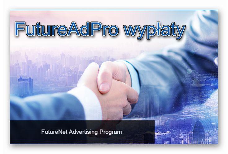 FutureAdPro wypłaty dla mnie zdecydowanie program numer jeden. Do tej pory reinwestowałem, ostatnio postanowiłem zacząć wypłacać i w tym miejscu te wypłaty