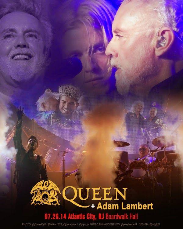 LAMBERTLUST: QUEEN + ADAM LAMBERT TOUR 2014 - YOUTUBE PLAYLISTS