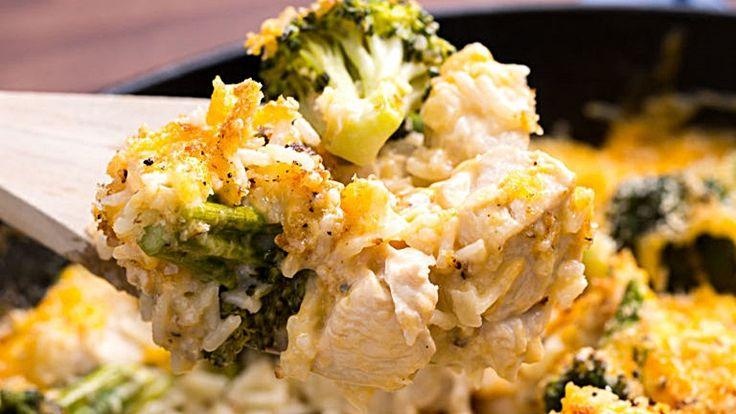 Csirkés rizottó