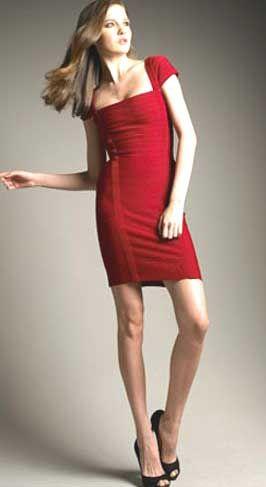 Выкройка платья с коротким рукавом - модель