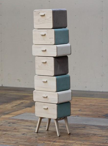 Group of drawers Oturakast, by Rianne Koens