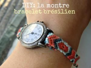 DIY: la montre bracelet brésilien