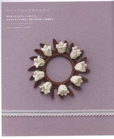 Crochet accessories, mostly for hair, Japanese design #Japanese #crochet #book
