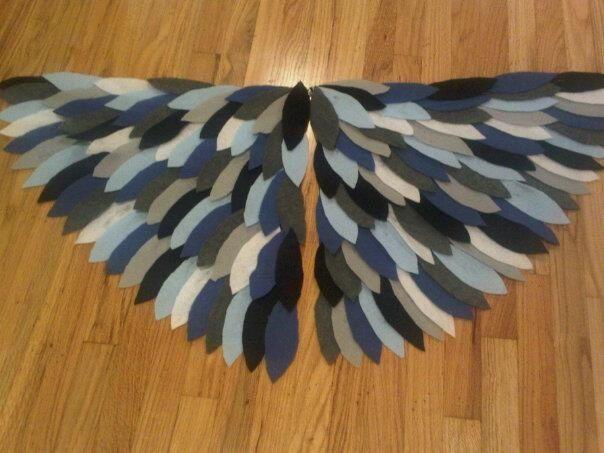 Wings For Falcon Costume Buscar Con Google Bird