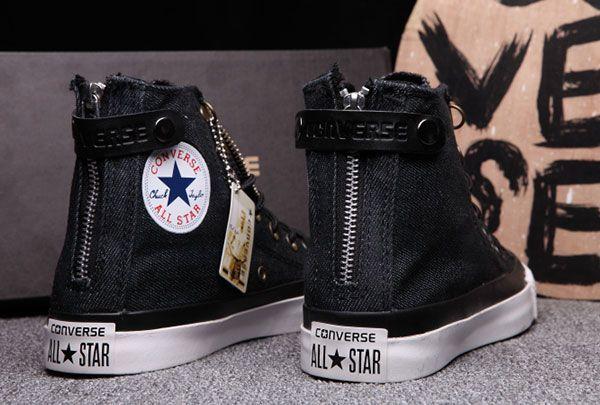 AmazingOutfits | High top sneakers fashion, Converse, Black