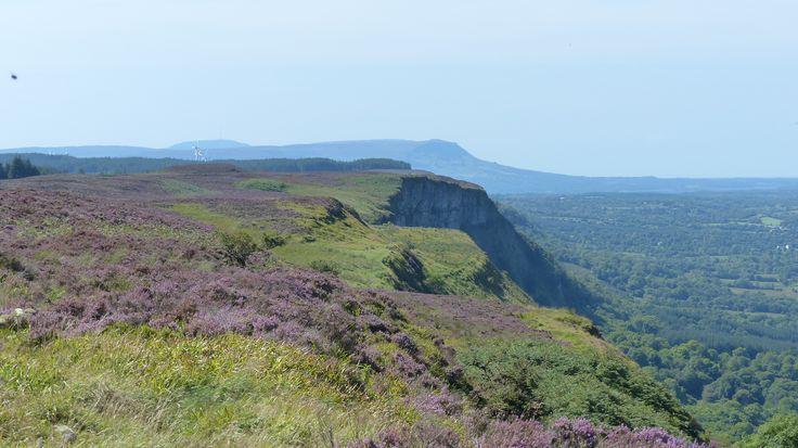 Co. Fermanagh: Magho cliffs.