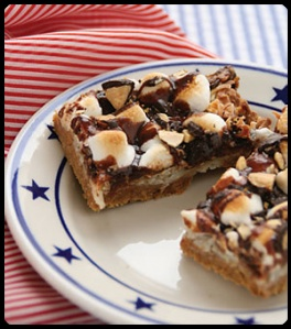 Easy S'mores Squares - yummy!  Hopefully THIS link works.