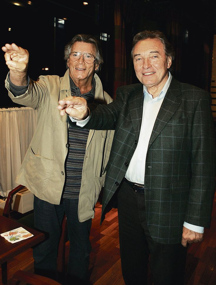 Pierre Brice a Karel Gott