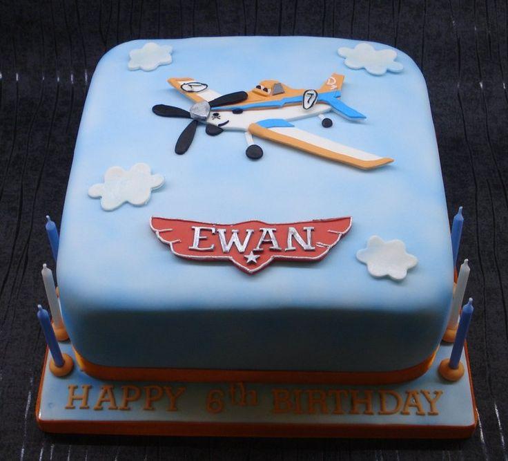 Disney Planes cake - by thatcakelady @ CakesDecor.com - cake decorating website