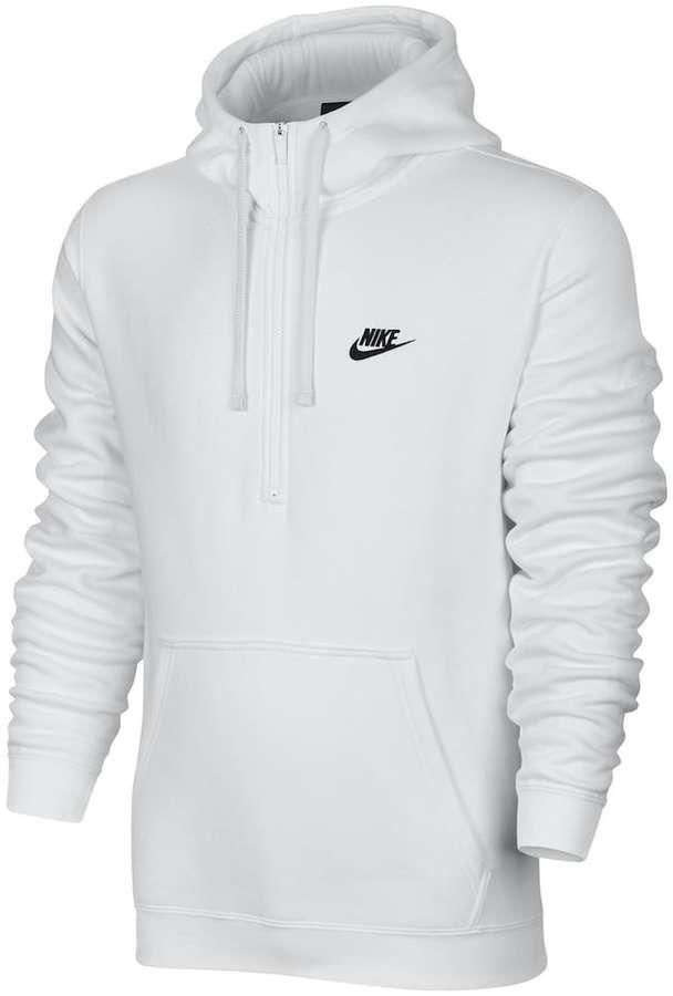 287bdb9f9fd9 Men s Nike Club Half-Zip Fleece Hoodie