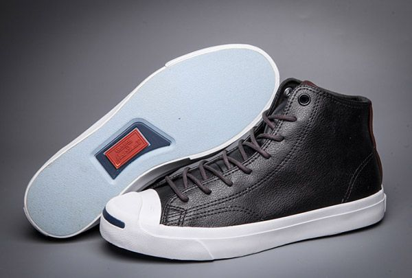 Converse Jack Purcell Black High Tops