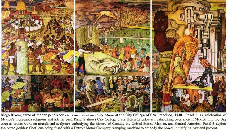 Diego rivera at moma makes us ask what happened to the for Diego rivera mural san francisco art institute