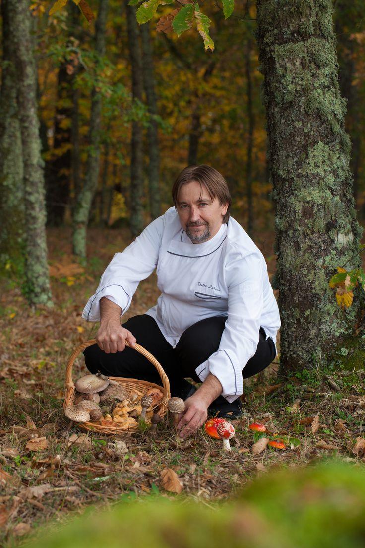 Chef Valdir Lubave @ Madre de Água Hotel Rural, Gouveia (Serra da Estrela), Portugal