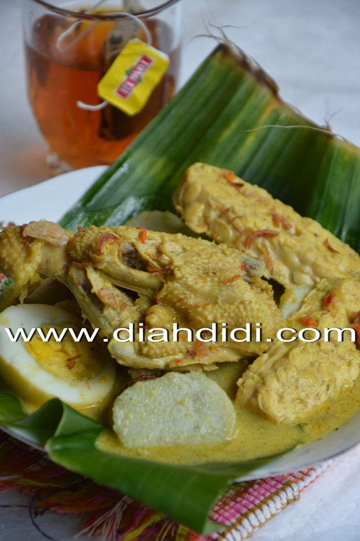 Diah Didi's Kitchen: Lontong Tuyuhan Khas Rembang