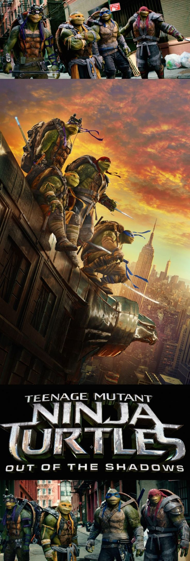Get your tickets for the much anticipated Teenage Mutant Ninja Turtles: Out of the Shadows!