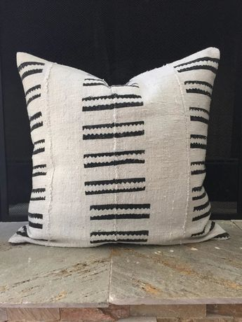 African Mudcloth Pillow Cover Ethnic by HomegirlCollection on Etsy