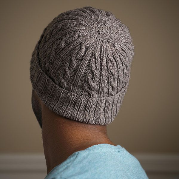 Man-Approved Cabled Hat Pattern - one of my most popular patterns of the year - quick and handsome and sure to be loved by that special fellow in your life