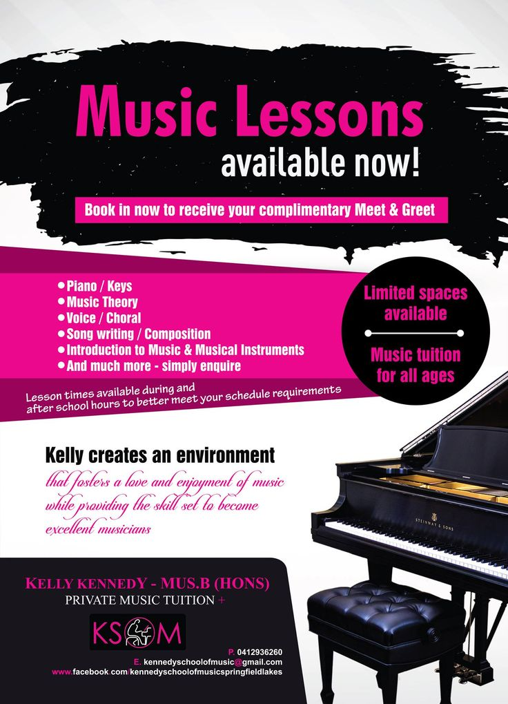 So many great options for your musical child over at Kennedy School of Music Springfield Lakes! https://www.facebook.com/ksomspringfieldlakes