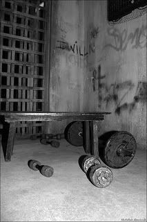 """""""Prison Workout"""", ideas for body weight exercises. Proof that you don't need a gym with fancy equipment to stay in shape. I'd also add box jumps and Tabata (20 on 10 off, or 40 on 20 off) to the list."""