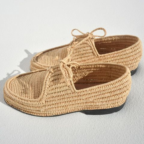 GENISIS PLAIN RAFFIA MOROCCAN OXFORDS