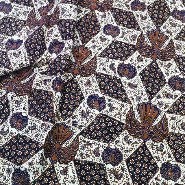 Solo traditional Royal Batik Design.
