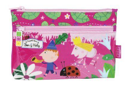 Ben & Holly - Portatodo con dos cremalleras (Safta 811430033): Amazon.es: Juguetes y juegos