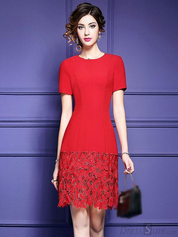 9 best Vestido de renda images on Pinterest | Block dress, Cute ...