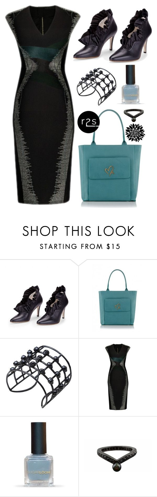 """""""Fun work outfit!"""" by runway2street ❤ liked on Polyvore featuring Zoe Lee, Bernard Delettrez and Karapetyan"""