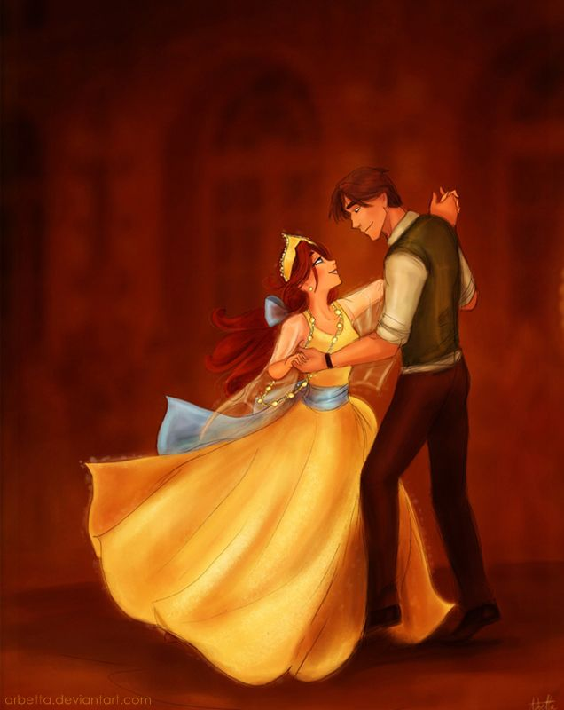 -commission- Anastasia and Dimitri by *Arbetta on deviantART ~~ Even though Disney didn't make it (which I always thought they did until recently) I still love this princess movie : 3