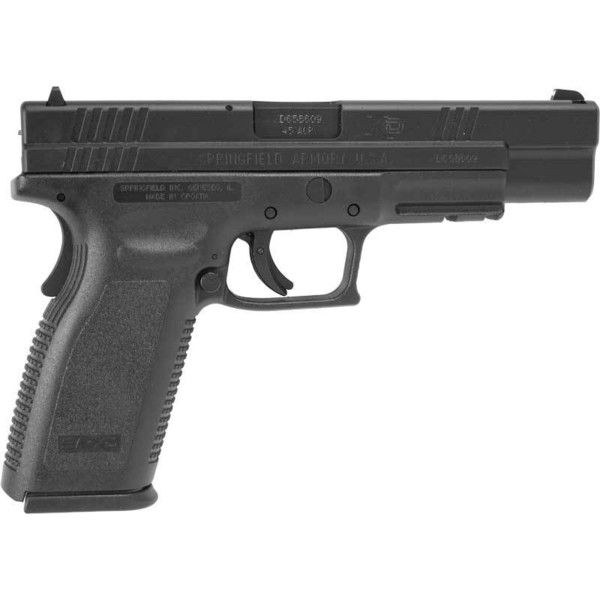 Springfield XD .45 Cal Tactical #SPR-45 TACT – Firearms & Firearm... ❤ liked on Polyvore featuring weapons, accessories, apocalypse and guns