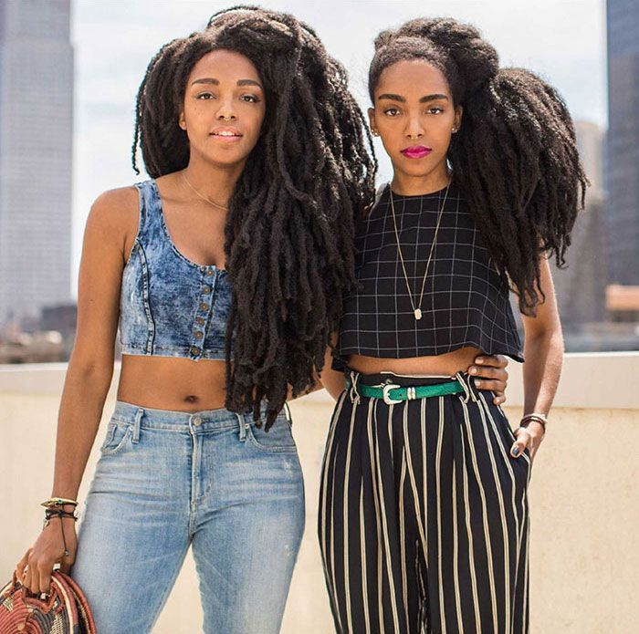 These Twin Sisters Were Ashamed Of Their Incredible Hair, But Now They Became Famous For It | Bored Panda