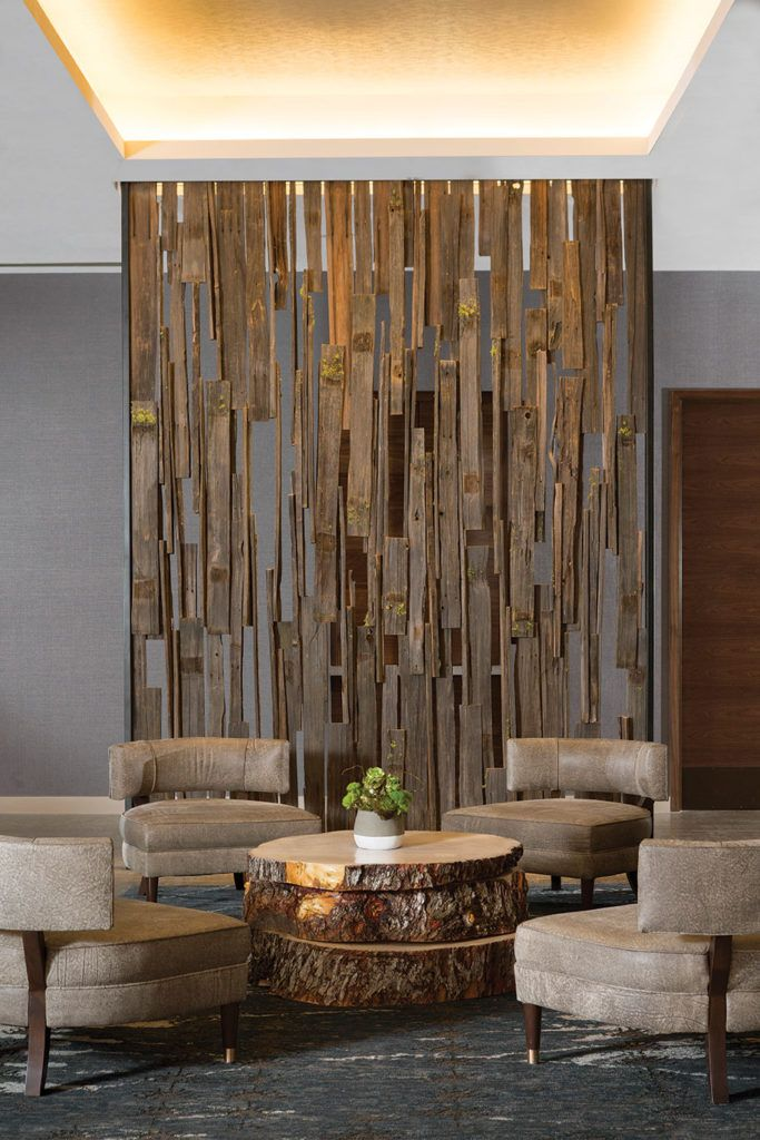 At The Water S Edge Interior Wall Design Wall Partition Design