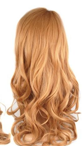 I think I want to dye my hair this beauty full strawberry blonde.
